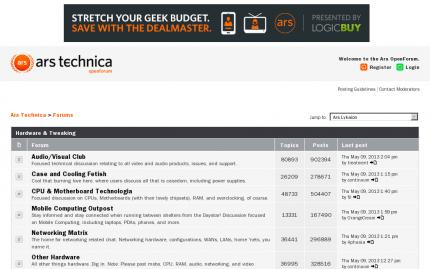 Ars Technica openforum