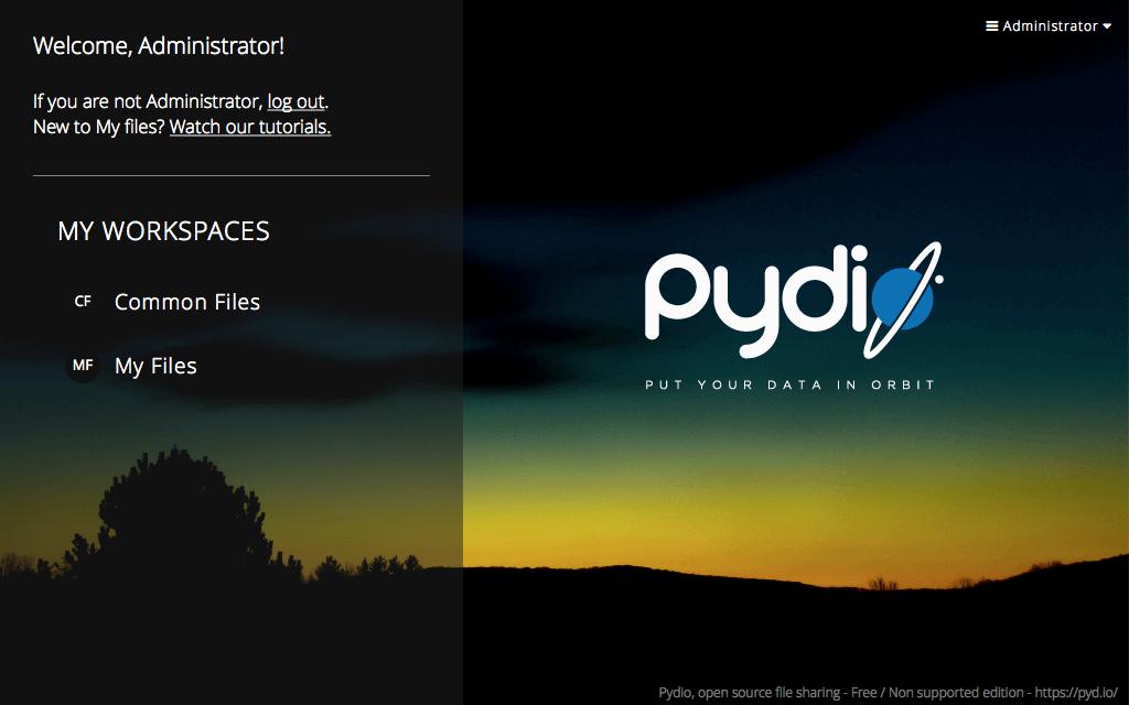 Hosting Pydio