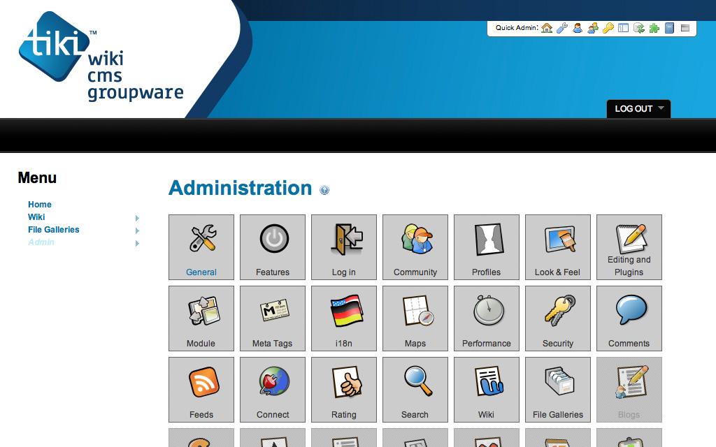 Alojamiento Tiki Wiki CMS Groupware